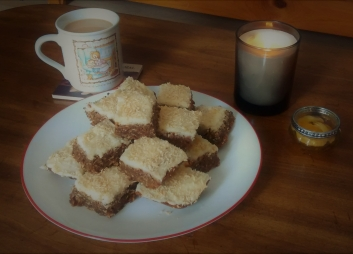 Coconut Coffee Squares