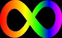 Rainbow Infinity Symbol